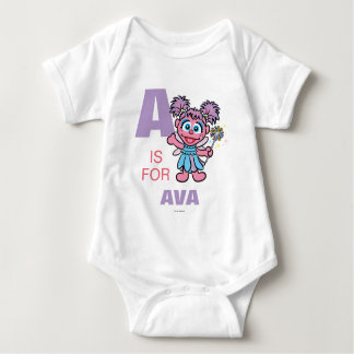 A is for Abby Baby Bodysuit