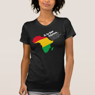 A is for Africa #2 Tee Shirts