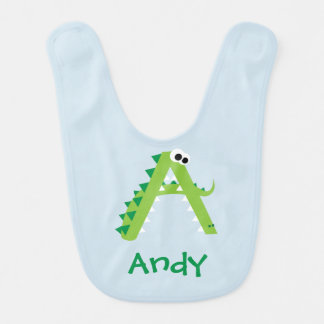 A Is For Alligator Cute Bib