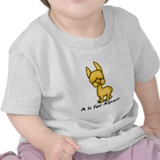 A is for Alpaca Shirts