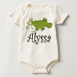 A is for Alyssa, Baby Gator Tee