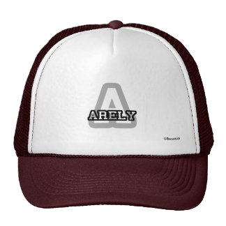 A is for Arely Hats