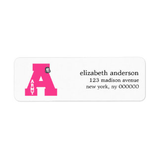 A is for Army Address Labels