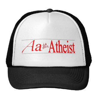 A is for Atheist Hat