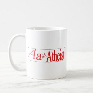 A is for Atheist Mug