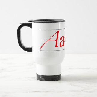 A is for Atheist Coffee Mug