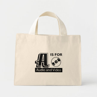 A Is For Audio and Video Bags