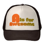 A is for Awesome Hat