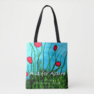 A Is for Azure Tote