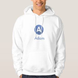 A is for hoodie