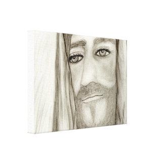 A Jesus Canvas Print