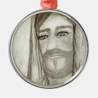 A Jesus Metal Ornament