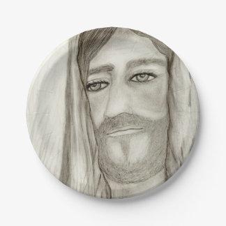 A Jesus Paper Plate