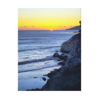 A Jewel On the Horizon Canvas Print