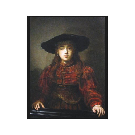A Jewish Bride - Rembrandt - 1641 Gallery Wrapped Canvas