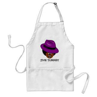 A Jive Turkey is Stuffed Full of Himself Standard Apron