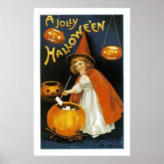 A Jolly Halloween Poster
