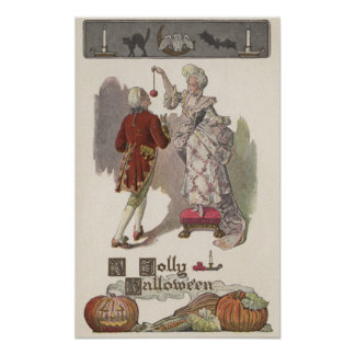 A Jolly HalloweenRestoration Dressed Couple Poster