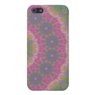 A journal Page mandala iPhone 5 Cases
