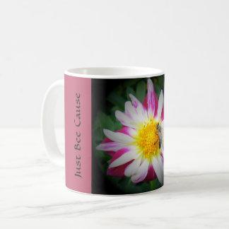 a Just Bee Cause mug