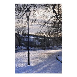 A kendal winter scene photograph