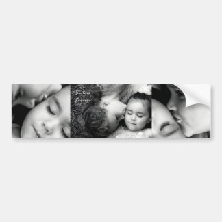 A Kiss For O/Sisters Forever Bumper Sticker