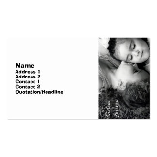 A Kiss For O/Sisters Forever Business Card 2