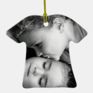 A Kiss For O/Sisters T-Shirt Ornament