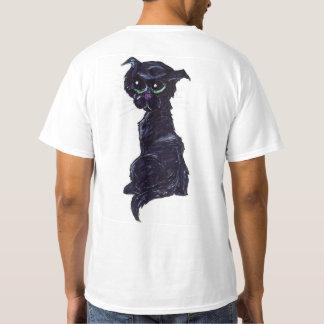 A #Kitty Named Jewel | #jWe | #BlackCat #GreenEyes T-Shirt