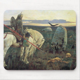 A Knight at the Crossroads Mouse Pad