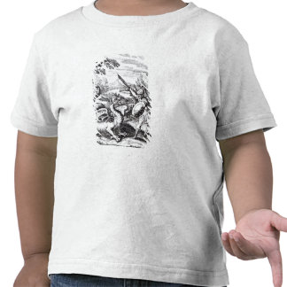 A knight defeating 'Rot' T Shirt