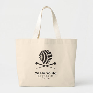 A Knitting Life For Me Tote