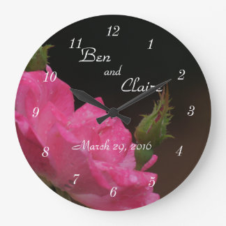 A Knockoout Rose Clock 4386- customise