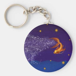 A Koi Among the Stars - keychain