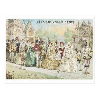 A La Ville de St Denis Postcard