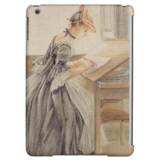 A Lady Copying at a Drawing Table, c.1760-70 (grap iPad Air Cover