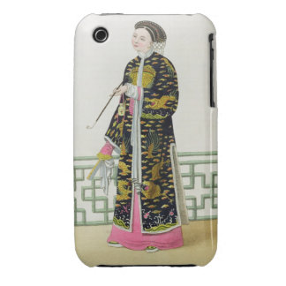 A Lady of Distinction in her Habit of Ceremony, pl iPhone 3 Case