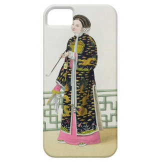 A Lady of Distinction in her Habit of Ceremony, pl iPhone 5 Covers