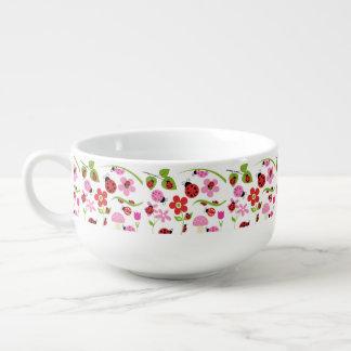 A Ladybug Garden Soup Mug