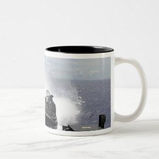 A landing craft air cushion mug