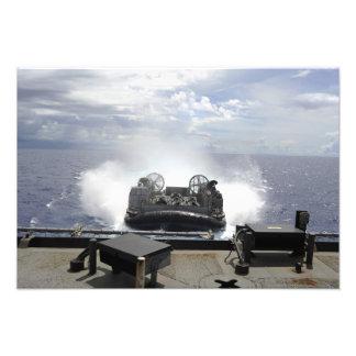 A landing craft air cushion photographic print