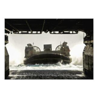 A landing craft air cushion prepares to enter photo