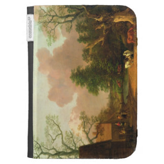 A Landscape with Figures, Farm Buildings and a Mil Case For Kindle