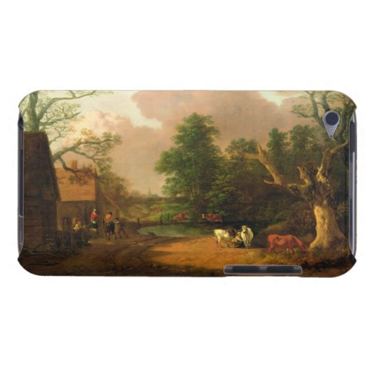 A Landscape with Figures, Farm Buildings and a Mil iPod Case-Mate Case