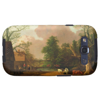 A Landscape with Figures Farm Buildings and a Mil Samsung Galaxy SIII Cover