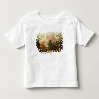 A Landscape with Figures, Farm Buildings and a Mil Tee Shirts