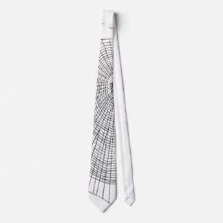 A Large Illustration Of A Spider's Web Tie