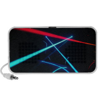 A Laser Show Travel Speakers