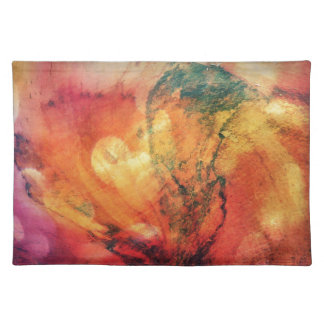 A Leaf In The Wood Autumn Art Abstract Placemat
