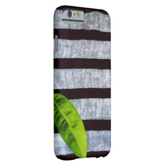 A Leaf On Stripes Barely There iPhone 6 Case